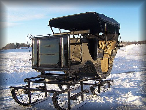 Horse Sleigh Buggy Carriage - Horse Sleighs