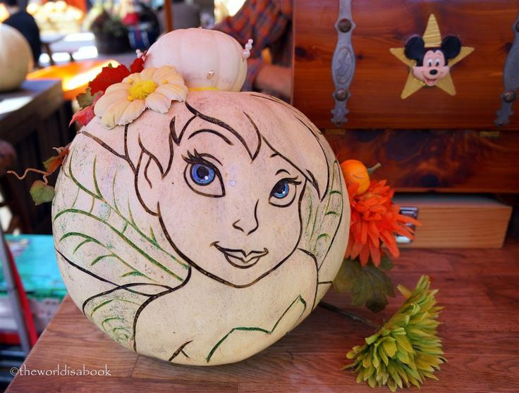 234 best tinkerbell images on pinterest tinkerbell fee for How to carve tinkerbell in a pumpkin