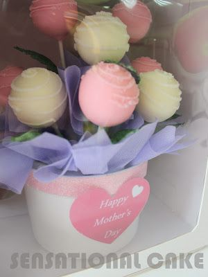 CAKE POP FLOWERS BOUQUET  FOR LOVE ONES SINGAPORE / VALENTINE THEME / MOTHER'S DAY AND FATHER'S DAY GIFT