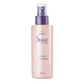 Siàge Spray Texturizador Sua fórmula produz ondas irregulares, dá corpo e movimento aos fios. Um verdadeiro estilo praia. Ideal para ser usado no cabelo seco ou úmido.