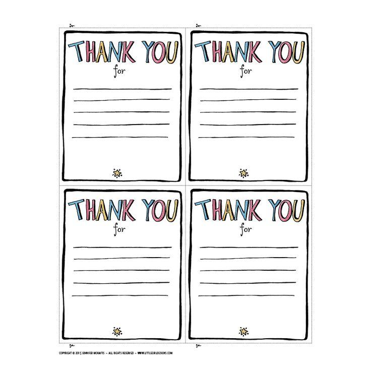 Best 25+ Teacher thank you notes ideas on Pinterest Secretary - thank you letter for gift