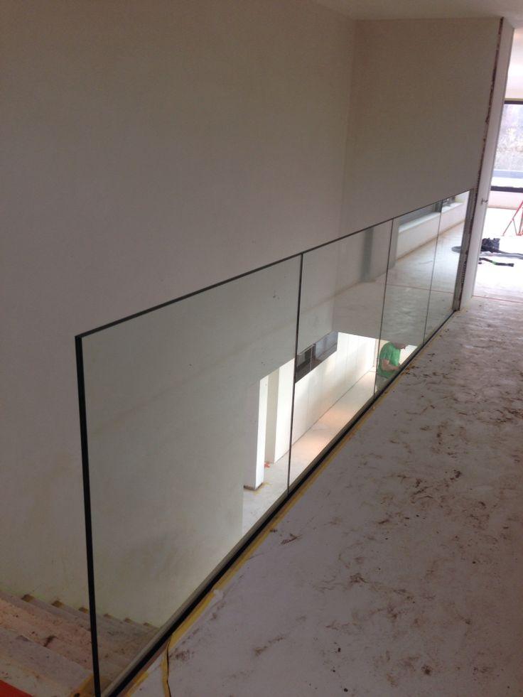 Glazen balustrade glas pinterest for Balustrade trap