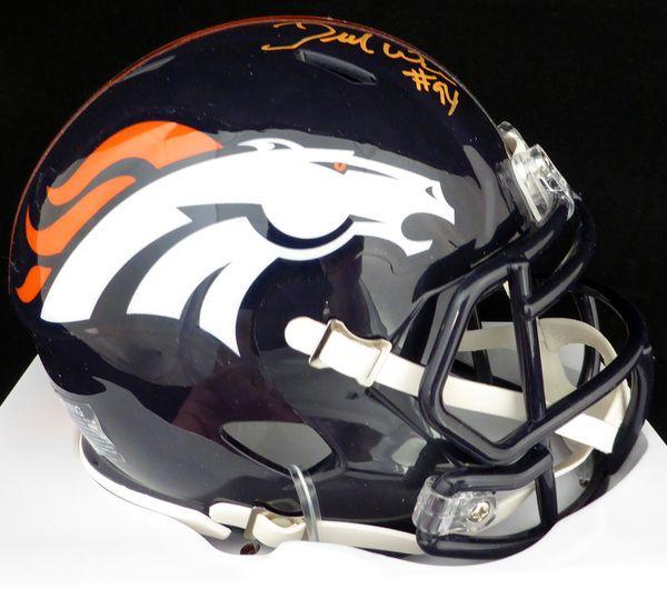 DeMarcus Ware Autographed Denver Broncos / Super Bowl 50 Mini Helmet PSA/DNA