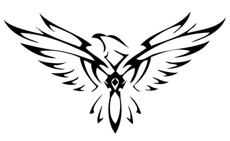 Tribal Horde Falcon by xxtheansweris7xx.deviantart.com on @deviantART