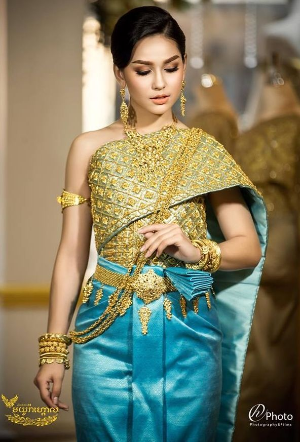 Khmer Wedding Costume Khmer Wedding Traditional Outfits Cambodian Dress
