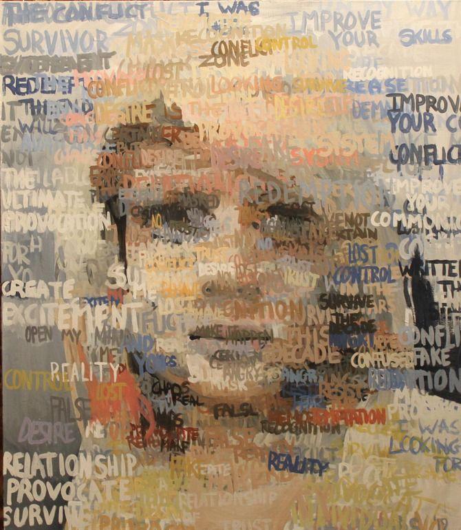 "Saatchi Online Artist: THOMAS GROMAS; Acrylic, 2012, Painting ""untitled"""