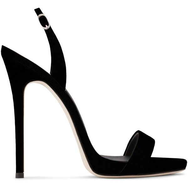 Giuseppe Zanotti Sophie ($625) ❤ liked on Polyvore featuring shoes, sandals, heels, delete, black, high heels, platform sandals, heeled sandals, black heeled sandals and platform shoes