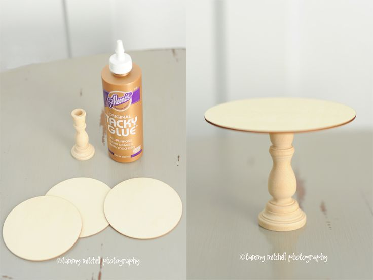 Diy a mini cake stand or a cupcake stand perfect size for How to make a cake stand