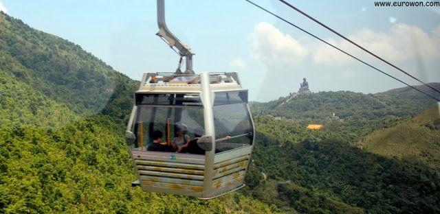 Teleférico Ngong Ping 360 de Lantau.