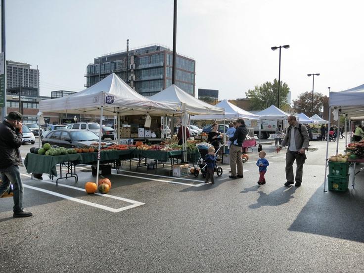 Liberty Village farmers' market overall