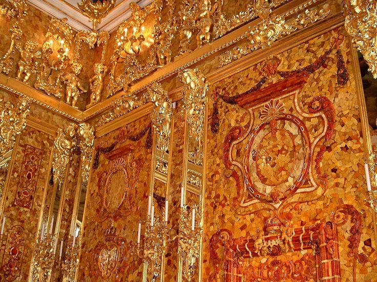 Bernsteinzimmer01 - Amber Room - Wikipedia