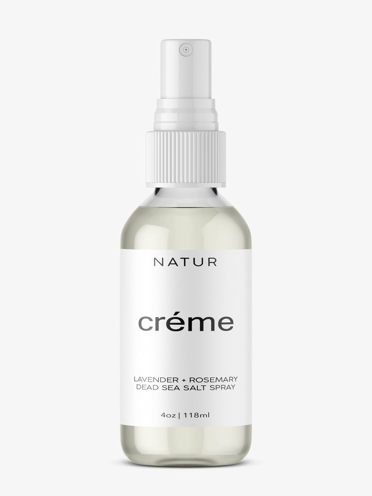 Dead Sea Salt Spray - Organic Lavender or Grapefruit Scent 4oz by NaturCreme on Etsy https://www.etsy.com/listing/514404744/dead-sea-salt-spray-organic-lavender-or