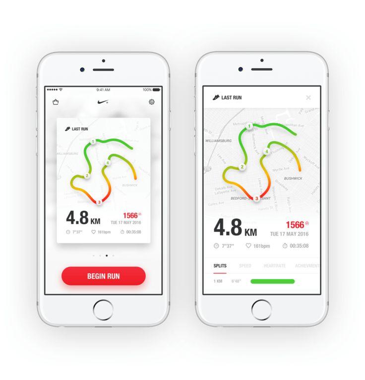 Rethinking Nike+ Running — Aziz Firat