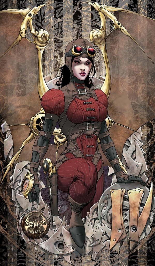 lady demonika by joe benitez - Lady Mechanika Comic by Joe Benitez  <3 <3