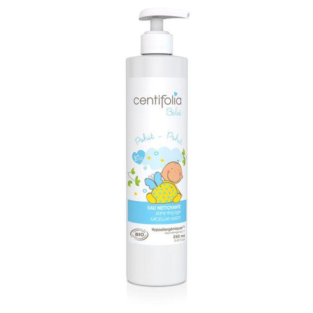 Eau nettoyante sans rinçage Centifolia - Bébé/Toilette de bébé - Doux-Good - Cosmétiques bio et naturels