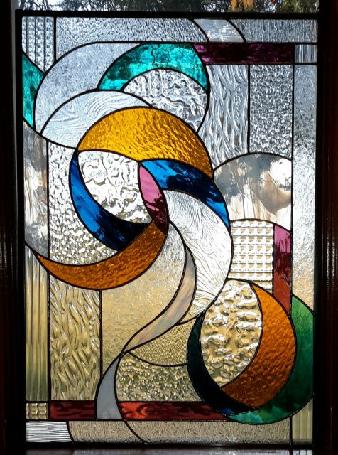 54 Best Stained Glass Abstract Images On Pinterest