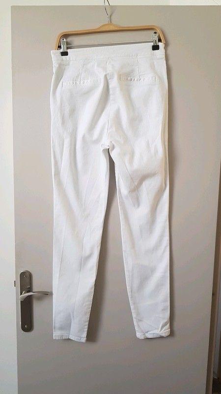 c9e3a24316a29 Jean blanc Maje | pantalon | Jean blanc, Jeans et Blanc