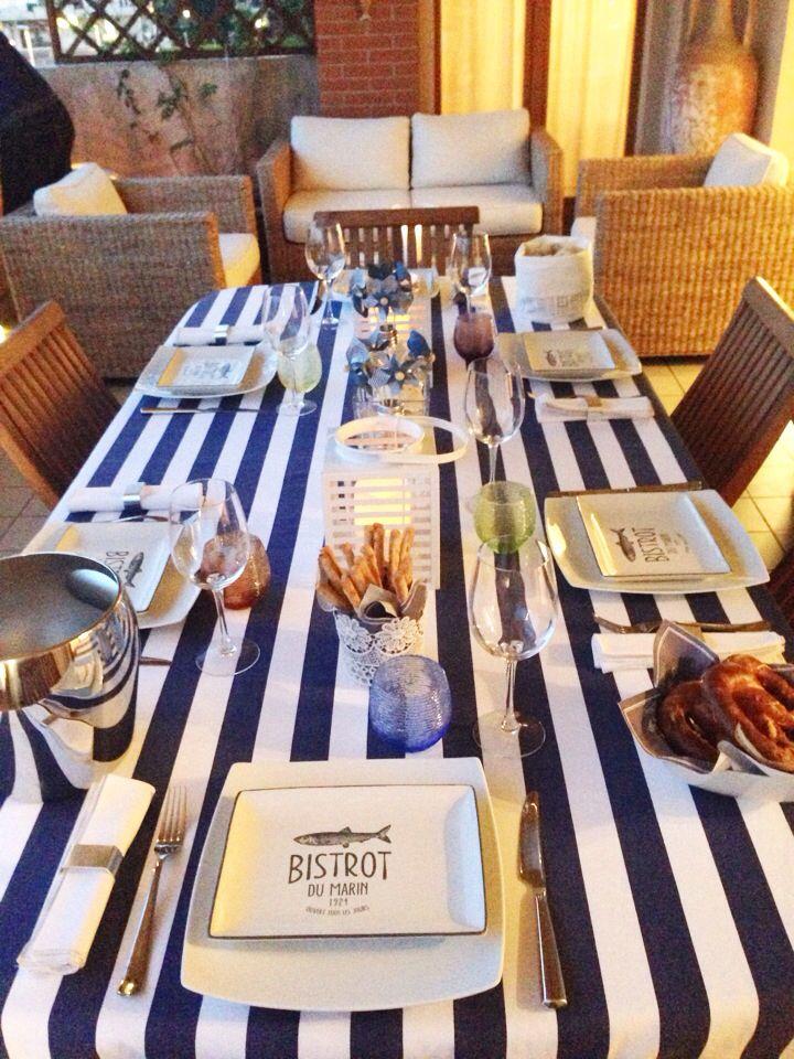 Tavola marinara Marine table