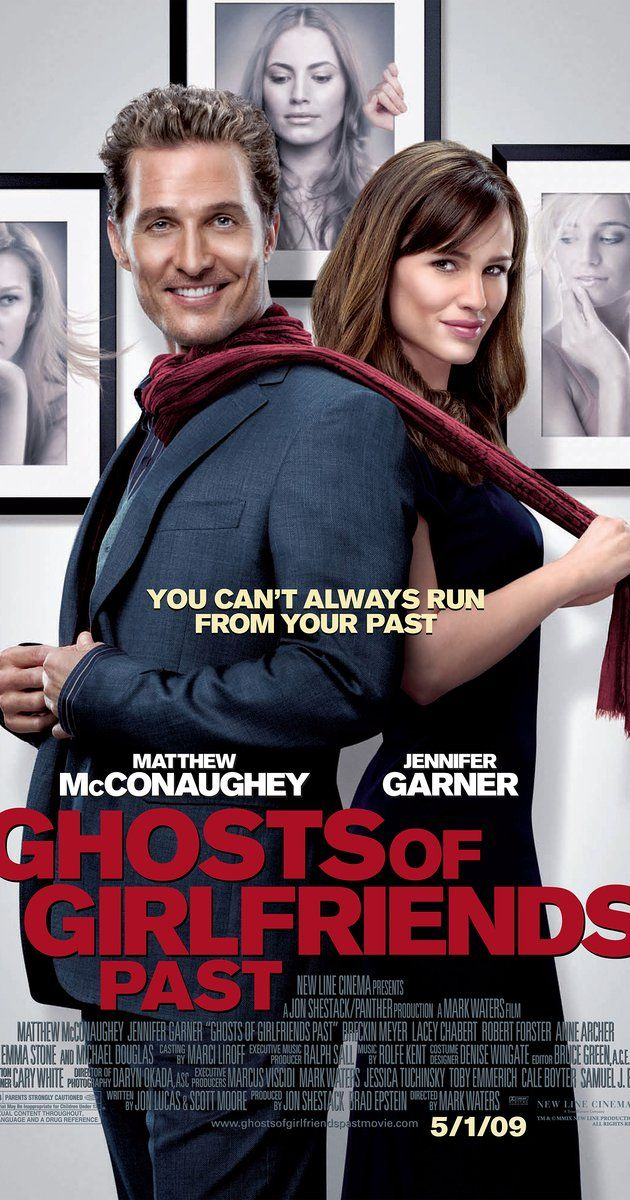 Directed by Mark Waters.  With Matthew McConaughey, Jennifer Garner, Emma Stone, Michael Douglas. While attending his brother's wedding, a serial womanizer is haunted by the ghosts of his past girlfriends.