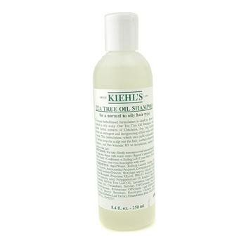 Kiehl's Tea Tree Oil Shampoo ( For Normal to Oily ) - 250ml/8.4oz by Kiehl's. $33.61. A mild yet effective cleaning agent for hair Formulated with herbal extracts like Cinchona, Ivy, Lavender & Yarrow Gives astringent & invigorating effect to soothe scalp Contains humectants, panthenol and pro-vitamin B4 Moisturizes, nourishes & conditions hair Leaves hair soft, smooth, clean & healthy