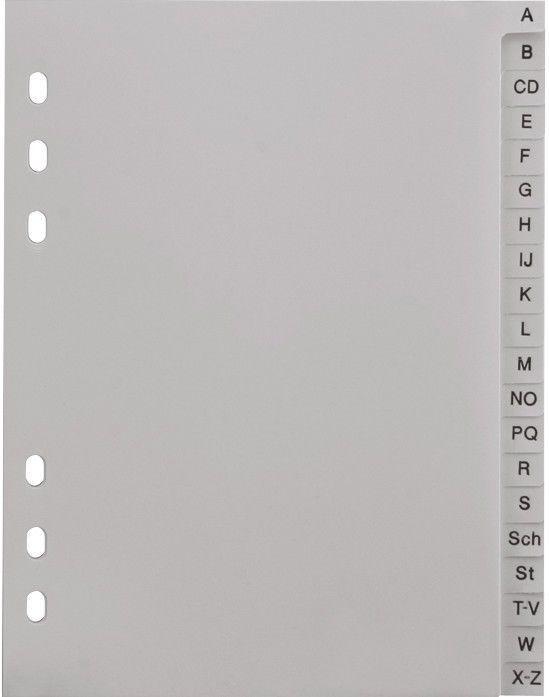 DIN A5 Buchstabenregister A-Z Ordner-Register grau ABC in Büro & Schreibwaren, Papier, Büro- & Schreibwaren, Ordnen & ablegen | eBay