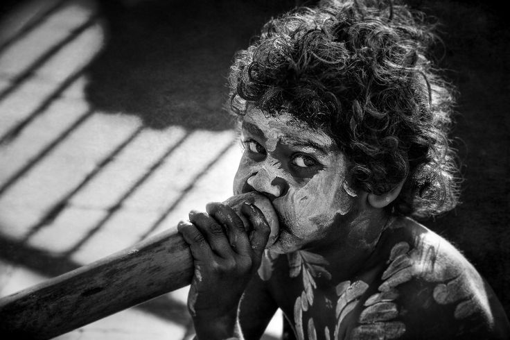 Didgeridoo player | by Peter Schlyter
