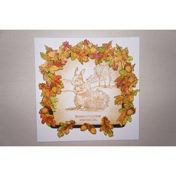 Sheena Douglass Perfect Partners A6 Rubber Stamp Set - Little Acorn Stamp
