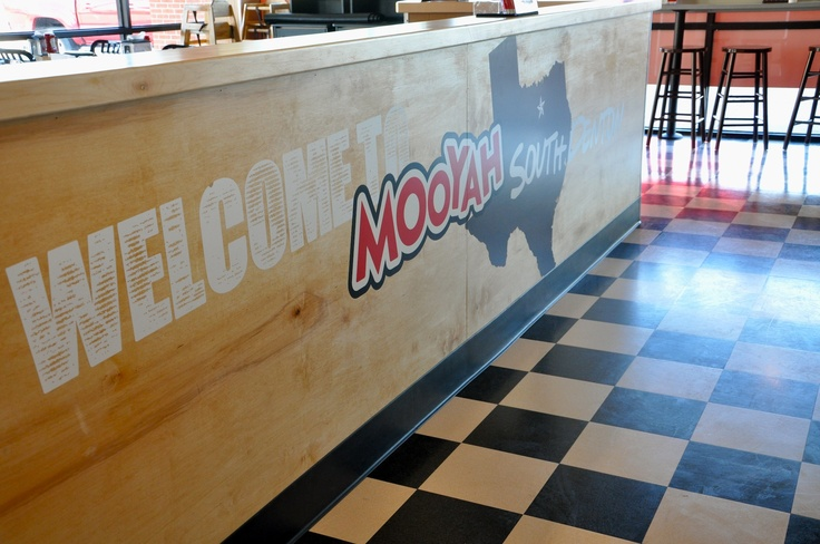 Interior Of Denton Tx Location Mooyah Meat Us At Pinterest Interiors And Of