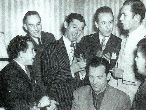 Hank Williams, Roy Acuff, Red Foley and Little Jimmy Dickens