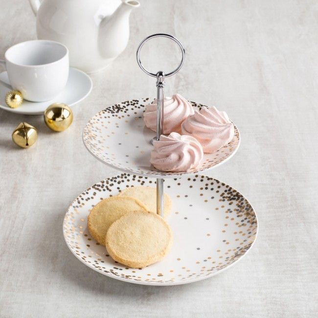 Add a touch of the traditional to your holiday table with this classic look. Serve your favourite holiday treats, chocolates or baked goods on these stylish two-tier platters.    Whether you're looking for stocking stuffers, Secret Santa presents, festive Christmas decor or even gift cards, we have a huge selection of unique holiday stuff to make your days and nights merry and bright.