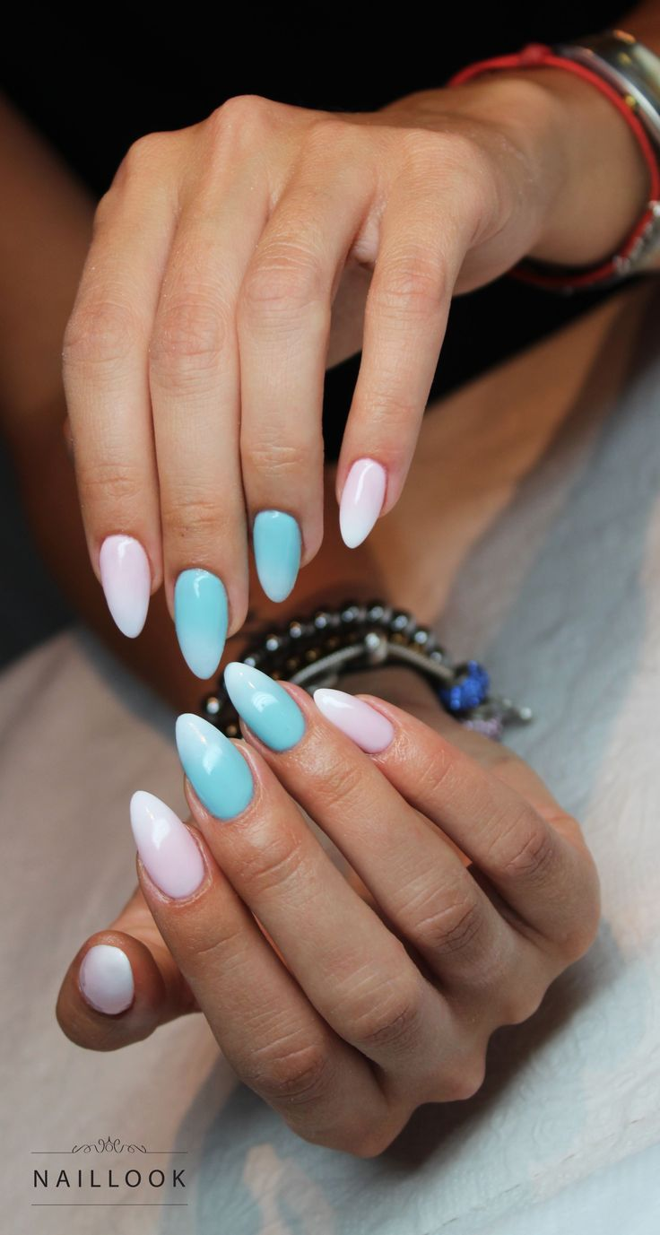 Ombre www.naillook.pl