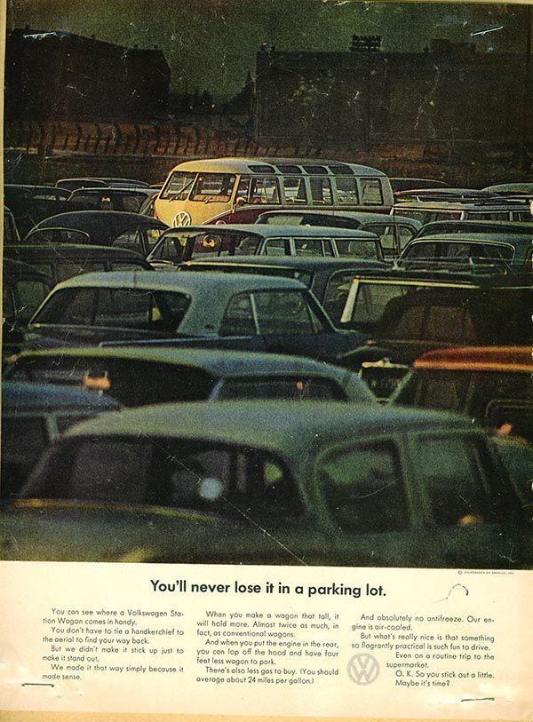 Il Post: le vecchie pubblicità del Volkswagen T2