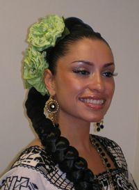 Beautiful mexican woman