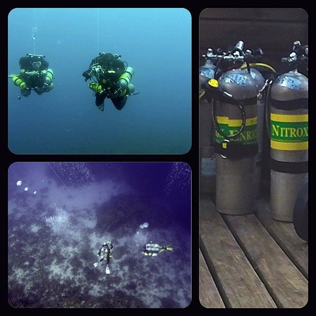 Technical diving fun