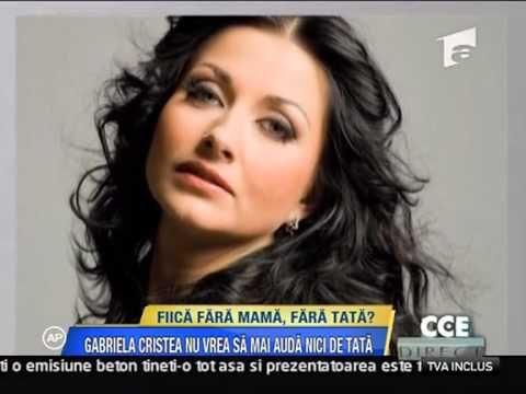 Acces Direct  Gabriela Cristea, fiica fara mama, fara tata!