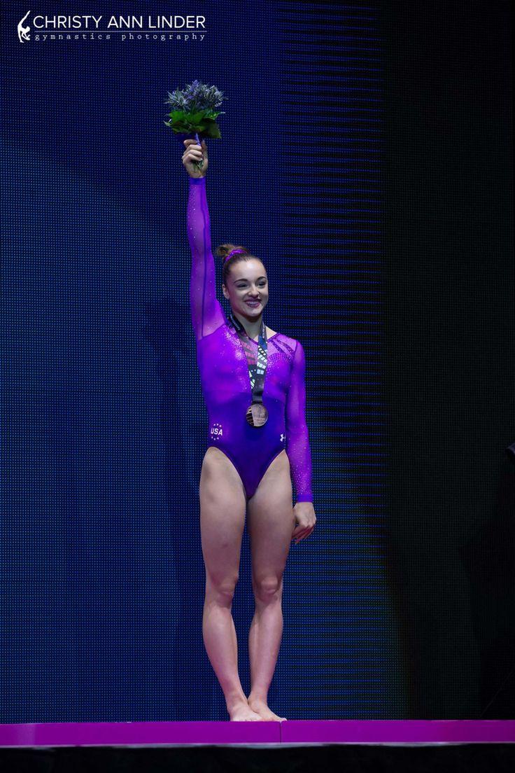 Maggie Nichols floor bronze medalist 15.0