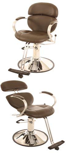 all purpose salon chair espresso brown more - Salon Chair