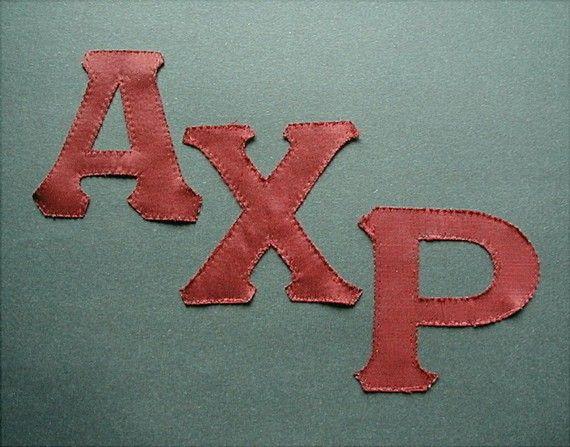 Alpha Chi Rho Fraternity Greek Letters Vintage by queenofsienna, $6.00