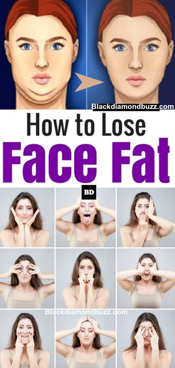 How To Lose Face Fat Exercises To Get Rid Of A Double Chin And Chubby Cheeks Fast Facefat Doublechin