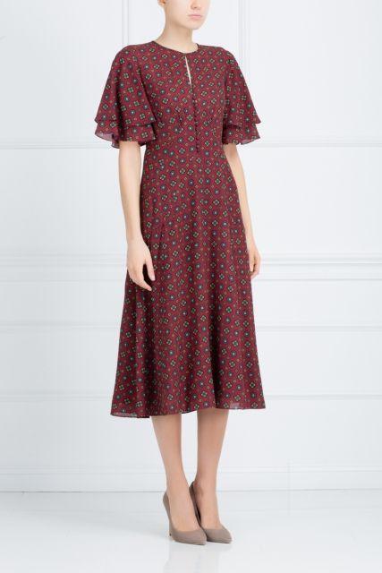 Шелковое платье Michael Kors - Майкл Корс – легенда американской моды в интернет-магазине модной дизайнерской и брендовой одежды
