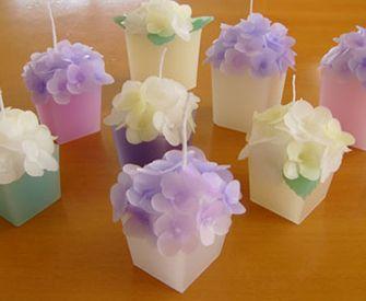 Svíčky * květiny