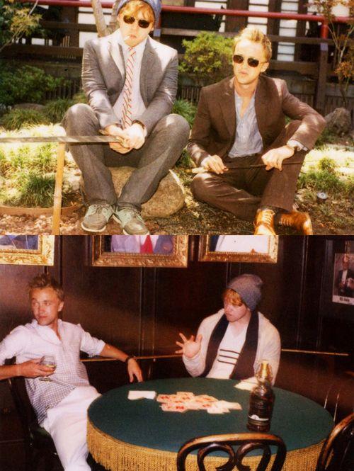 harry potter: Badass, Famous Friends, Best Friends, Celebrity Friends, Harrypotter, Draco, Boys
