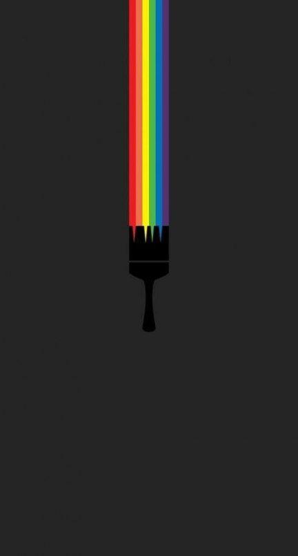 22 Ideas Wall Paper Android Minimalist | Rainbow wallpaper ...