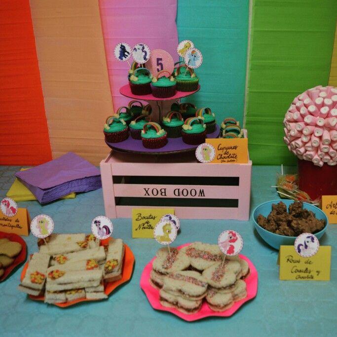 Mesa dulce #mylittleponyparty #fiestaspersonalizadas #fiestamylittlepony #liveadream