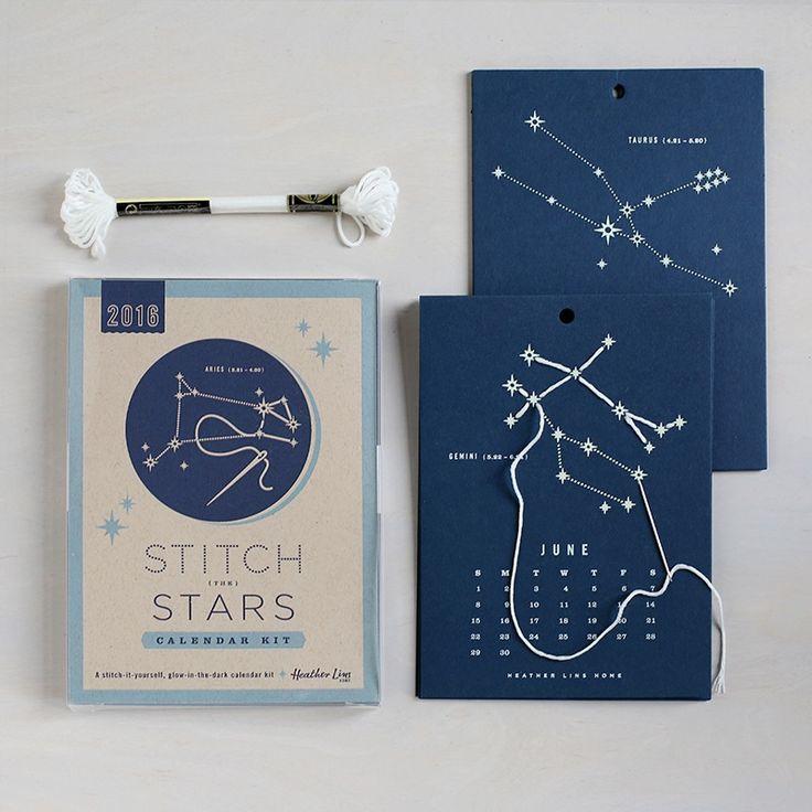 Image of 2016 Stitch the Stars Calendar Kit