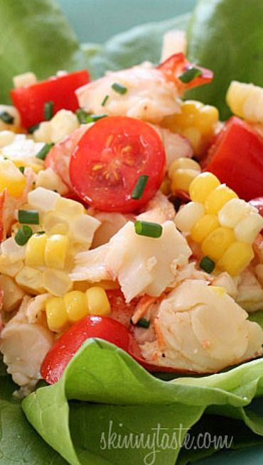 Langostino lobster salad recipes