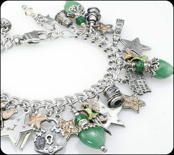 Tinkerbell Charm Bracelet: 17 Best Images About Tinkerbell Trinkets On Pinterest