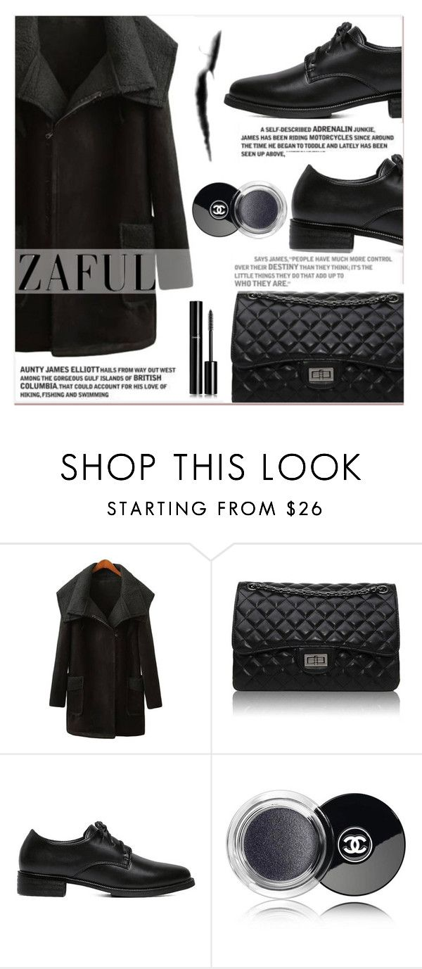 """""""www.zaful.com/?lkid=7011"""" by lucky-1990 ❤ liked on Polyvore featuring Chanel, women's clothing, women's fashion, women, female, woman, misses, juniors and zaful"""
