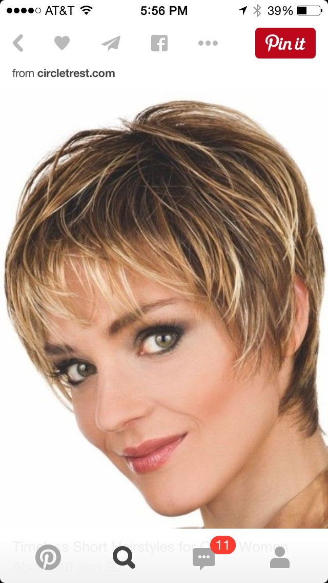 Hairstyles For Older Women With Fine Hair Amazing 74 Best Over 50 Hair Images On Pinterest  Hair Cut Shorter Hair