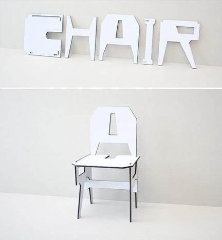 chair - joseph kosuth #chaise nominale
